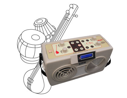 Digital Tabla-Tanpura